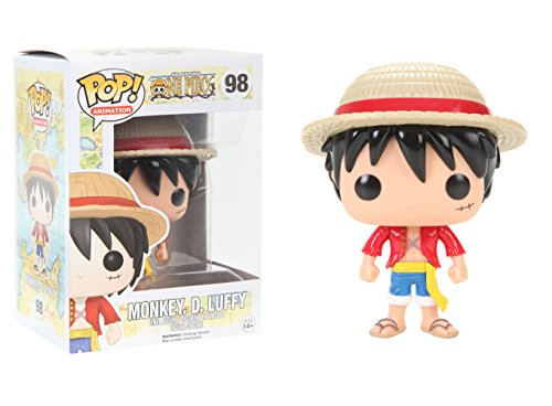 Funko POP Anime: One Piece Luffy Action Figure
