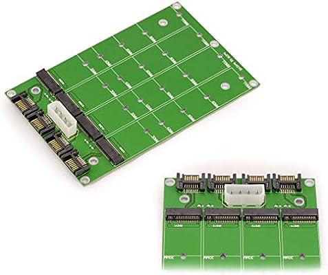 Kalea-Informatique – Adaptador para SSD M2 SATA (M.2 NGFF) a SATA ...