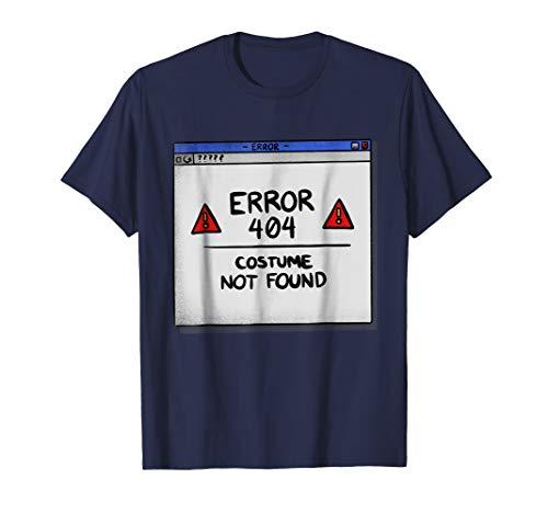 Error 404 Costume Not Found T-Shirt ()