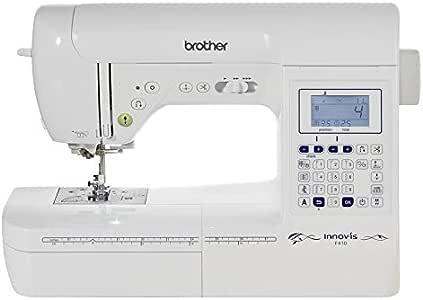 Brother Innovis F410 Máquina De Coser, Blanco: Amazon.es: Hogar