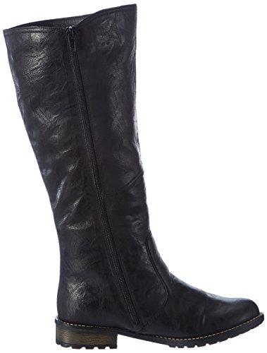 Thorn Ele Leder Girls' Boots Black Remonte Villge Gepr gtes Sphlt Snow qSAa1wxEH
