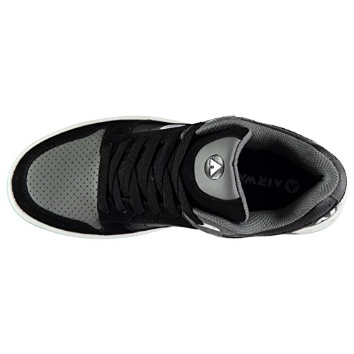 Throttle Homme Chaussures gris Noir De Airwalk Cl82 Skate Sn 5SOwnxq6A