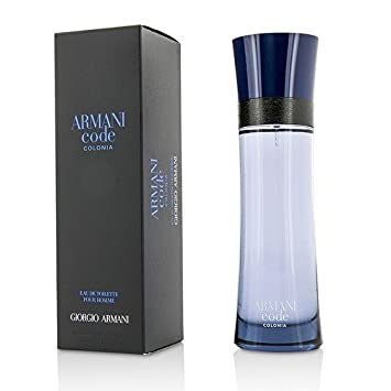 Armani Code Colonia Giorgio Armani EDT Spray Men 4.2 oz (Pack of 5)