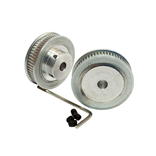 - BEMONOC Pack of 2pcs 2GT Timing Pulleys 60 Teeth 12mm Bore for 3D Printer Parts