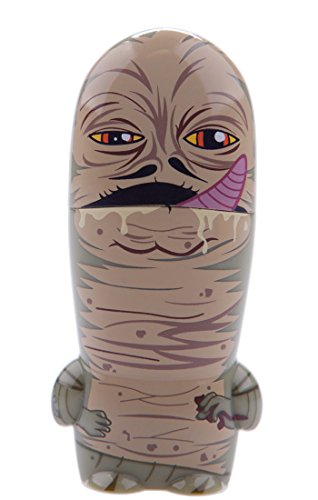 16GB Jabba the Hutt Star Wars USB Flash Drive with bonus preloaded Mimory content, Limited Edition MIMOBOT character by Mimoco