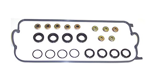 DNJ Valve Cover Gasket With Grommets VC245G For 94-02 Honda, Acura, Isuzu/Accord, CL, Oasis, Odyssey 2.2L-2.3L L4 SOHC Naturally Aspirated designation F23A1,F23A7,F22B1