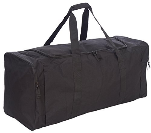 Jetstream 36 Inch 3-Pocket Hockey Equipment Duffle Bag (Black) ()
