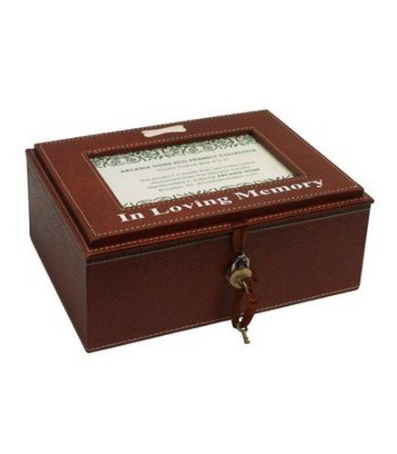 Arcadia Home PC46BMS In Loving Memory Box-for Dogs, Brown