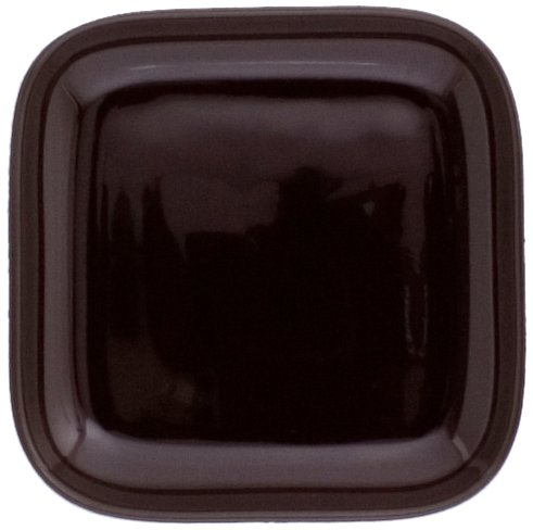 KAHLA Abra Cadabra Small Lid Angular 4 by 4 Inches, Chocolate Brown Color, 1 Piece