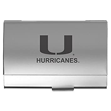 Amazon Lxg Inc University Of Miami Two Tone Business Card