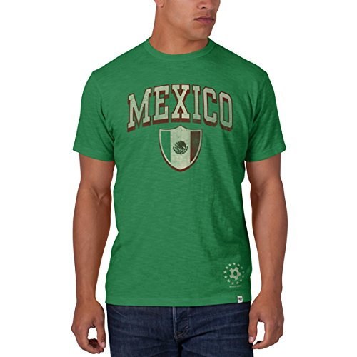 Mexico Tee World Cup (Mexico 2014 FIFA World Cup Soccer 47 Brand Scrum Premium T-Shirt)