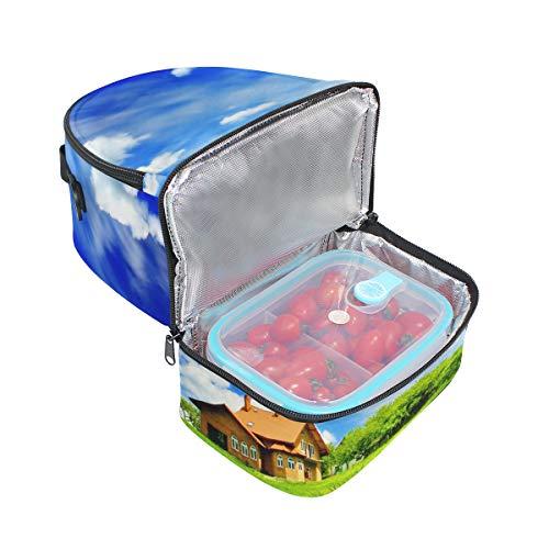 picnic para doble ideal almuerzo hombro para Bolso el de 81qaf