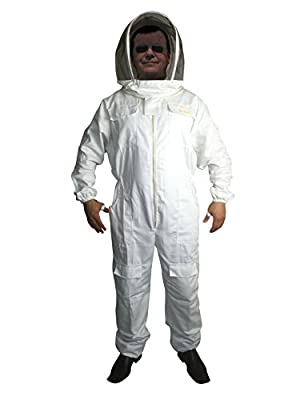 Bee Smart 310 Heavy Duty Bee Keeping suit with Fencing Veil