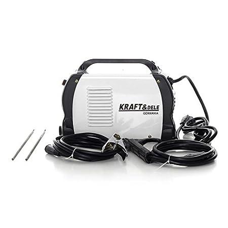 KD844 250A Kraft&Dele Electrodo Soldador Alemania Profesión MMA TIG: Amazon.es: Bricolaje y herramientas