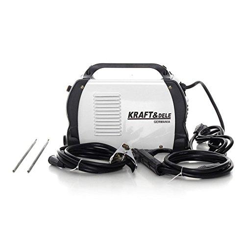 Kraft & Dele - KD844 - Soldadora Inverter profesional de electrodos, MAG, MMA, TIG. 250 A: Amazon.es: Bricolaje y herramientas