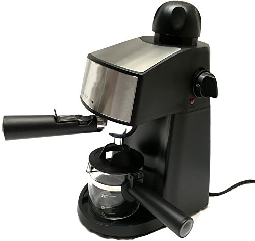 Powerful steam Espresso and Cappuccino Maker Barista Express Machine Black Make European ...