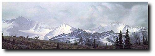Planejunkie in The Heart of Alaska by Stephen Lyman - Limited ED Print - Denali National Park - L/E of 550 - Scenic Art Prints