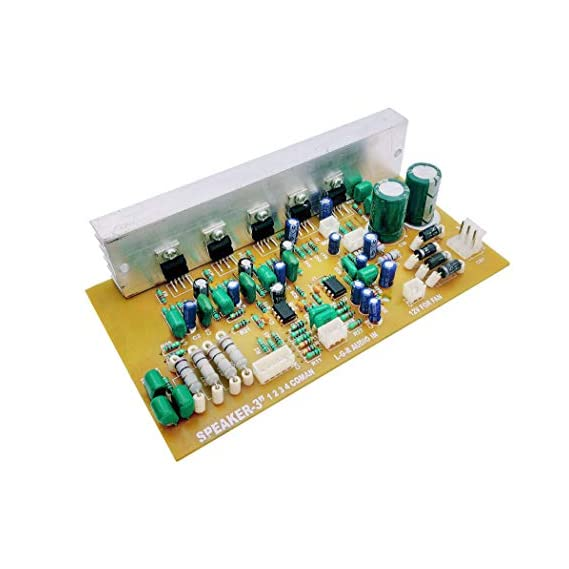 ERH INDIA 150W Stereo 5.1/3.1 Home Theater Audio Amplifier Board Kit, 5.1 HOM
