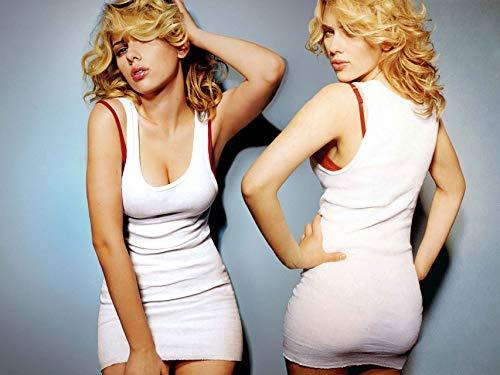 Scarlett Poster Johansson - Scarlett Johansson-Movie Sexy Actor poster 32 inch x 24 inch / 17 inch x 13 inch