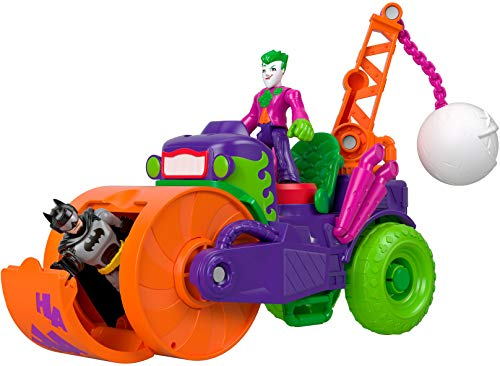 Fisher-Price Imaginext DC Super Friends The Joker Steamroller Vehicle