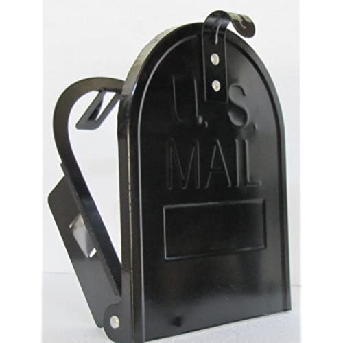 Exceptional 6 1/4 Inch RetroFit Mailbox Door Replacement   Black