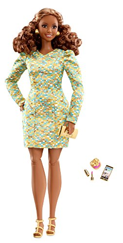 - Barbie The Look Metallic Mini Doll