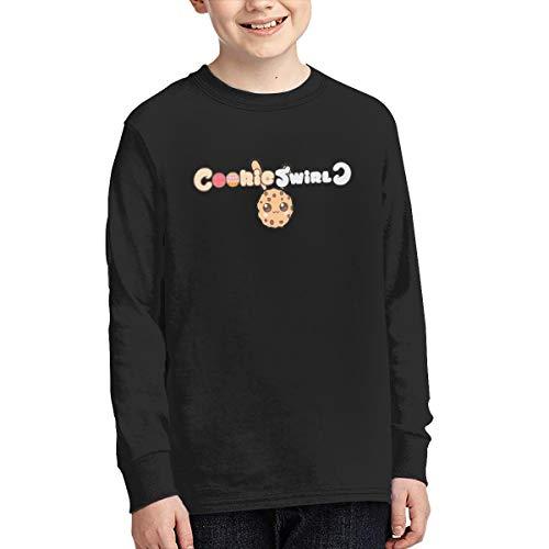 Halloween Cookie Swirl C (Optumus Cookie Swirl C Kids Sweatshirts Long Sleeve T Shirt Boy Girl Children Teenagers Unisex Tee Black)
