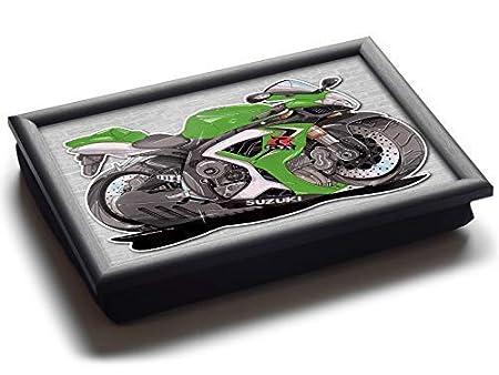 Koolart Suzuki GSXR Deluxe - Bandeja para puf con diseño de ...