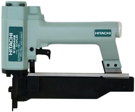 Hitachi N3804AB 18 Gauge 1//4-Inch Crown Finish Stapler Discontinued by Manufacturer