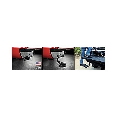 AMP Research 75313-01A Black Bumper Step (BedStep Flip Down): Automotive