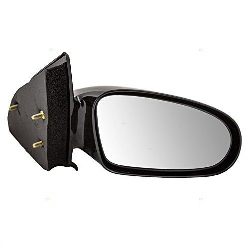 Passengers Manual Side View Mirror Replacement for Saturn Sedan & Wagon ()