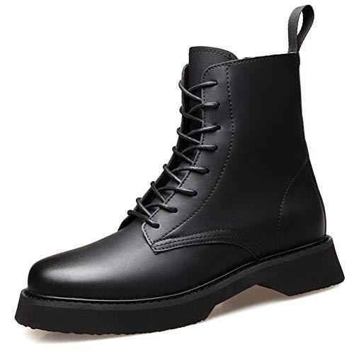 Stivali Casual Martin in con Stivali Chelsea Commercianti da Sicurezza per Stivali Stivali Smart Gomma Arrotondata da Suola con Black Punta Uomo x86UwqY