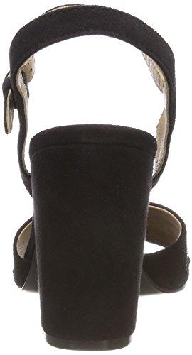 Ankle Schwarz 1000 916545803400 Hechter Strap WoMen Black Sandals Daniel R1qB6awx