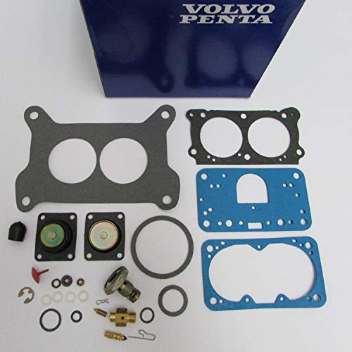- Volvo Penta New OEM Carburetor Carb Repair Rebuild Kit 21533400 4.3L, 5.0L, 5.7L