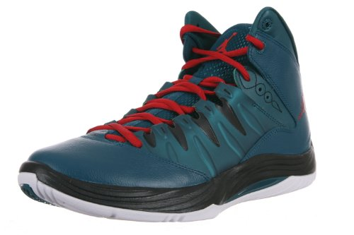 Jordan Nike Prime.Fly Mens Basketball Shoes Model 599582 019 Dark Sea/Gym Red-black-white