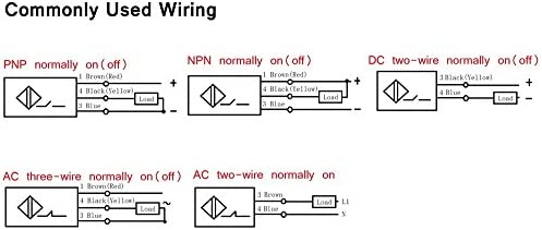 yxq pnp 3 wire normally on capacitive proximity sensor switch 6 to 3 Wire 220 Volt Wiring Diagram loading images