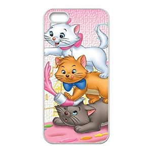 Aristocats Iphone 5 5S Cell Phone Case White SEJ6563033070272