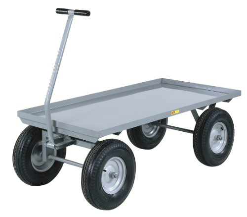 "Little Giant CH-3048-12P Steel Heavy-Duty Wagon Truck, 2000 lbs Capacity, 48"" Length x 30"" Width x 16-1/2"" Height"