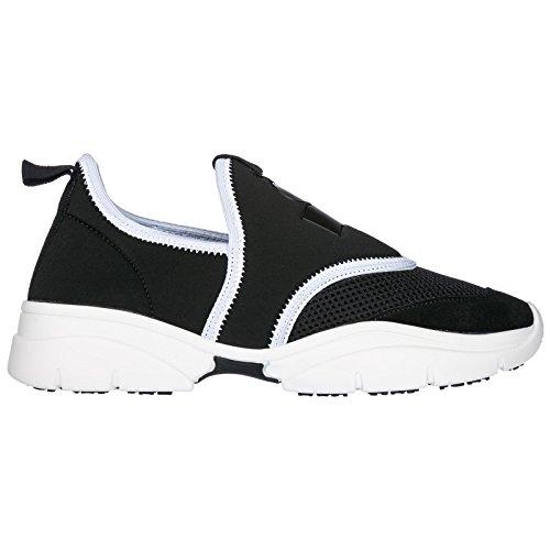 Originali Nuove Marant Nero Donna Slip Sneakers Isabel On 1OqSWZ