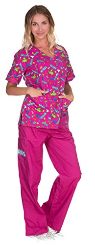 Nestle Licensed Womens Medical Scrubs product image