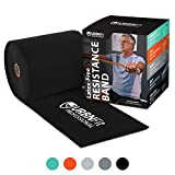 URBNFit Professional Resistance Bands – 25 Yards (75ft) Latex-Free Elastic Exercise Fitness Band Roll – No Scent, No Powder – Perfect for Physical Therapy & Rehab, Yoga, Pilates