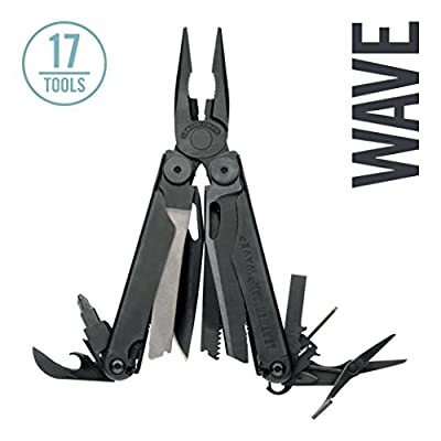 Leatherman - Wave® Multi-Tool, Black with Molle Sheath from Leatherman