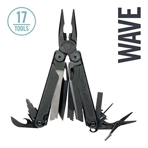 Leatherman - Wave Multitool, Black with MOLLE Sheath (FFP)