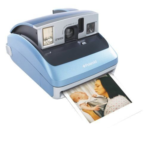 Polaroid One 600 Instant Camera with Digital Display, Light Blue