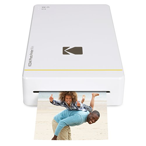 Kodak Mini Portable Mobile Instant Photo Printer - Wi-Fi & NFC Compatible -...