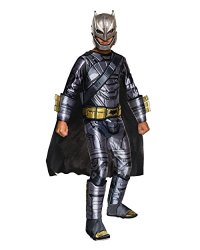 Batman And Superman Costumes (Rubie's Big Boys' Batman V Superman Armored Batman Costume)