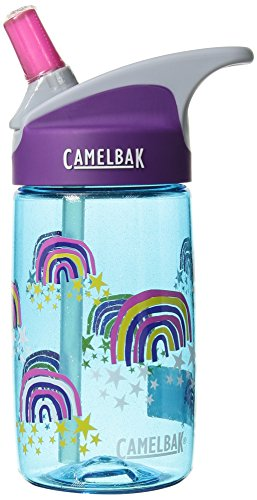 CamelBak eddy Kids Bottle, Glitter Rainbows, .4 L