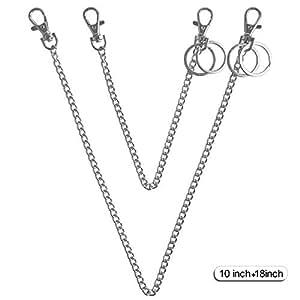 Amazon.com: Teskyer - Cadenas de bolsillo largas para llaves ...