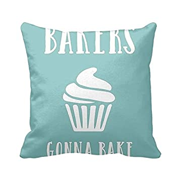 square pillowcases funny food quotes funny kitchen quotes pillow cover for sofa or bedroom - Funny Kitchen Quotes