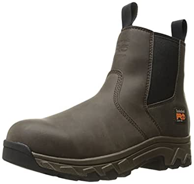 Amazon Com Timberland Pro Men S Linden Chelsea Alloy Toe